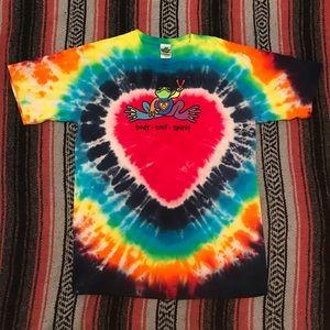 Other - Peace Frogs Heart Tie Dye San Juan T-Shirt
